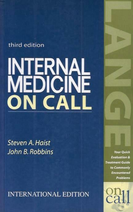 Internal Medicine on Call (third edition)
